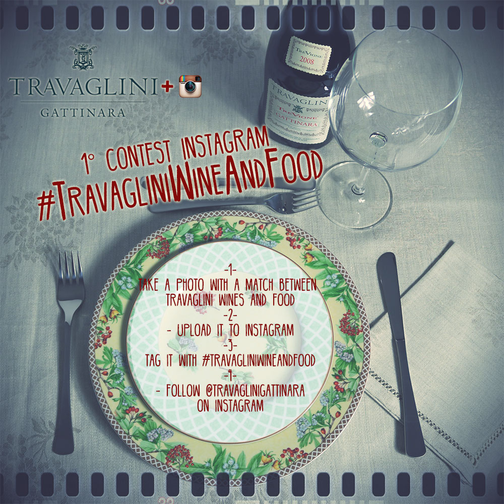 #TravagliniWineAndFood our first Instagram Contest