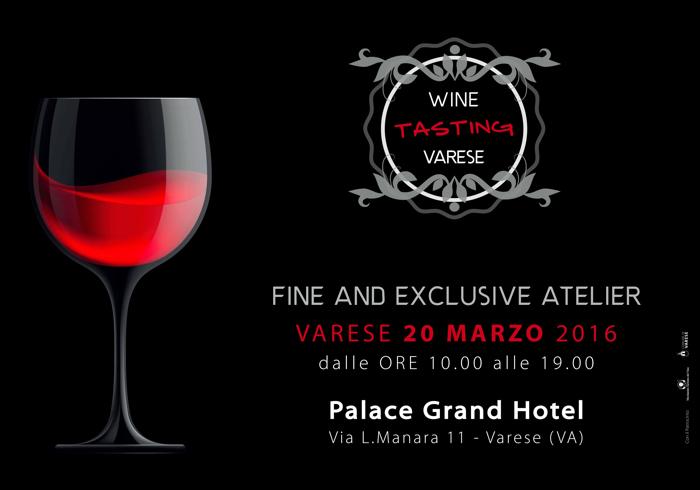 Wine Tasting Varese 2016