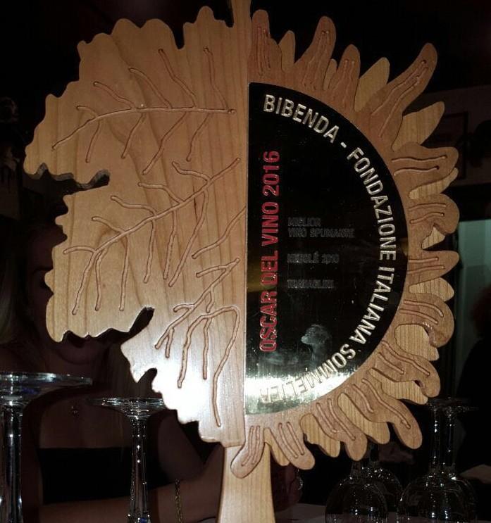 Oscar del Vino 2016 – Miglior Spumante Nebolé 2010