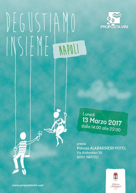 Napoli – 13 marzo 2017 – Degustiamo Insieme