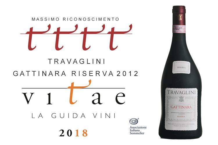 Guida Ais 2018 – Massimo riconoscimento Gattinara Riserva 2012
