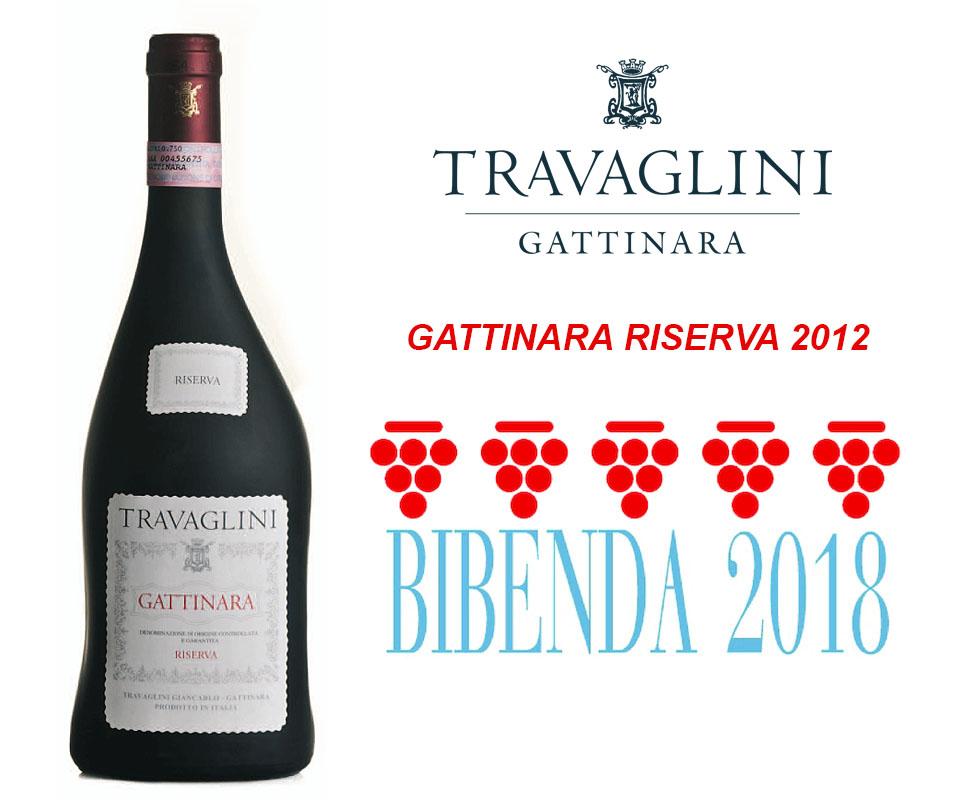 Bibenda – 5 grappoli al Gattinara Riserva 2012