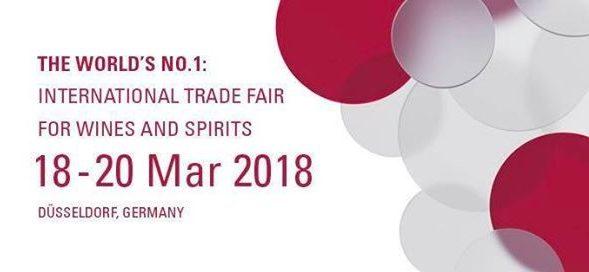 ProWein 18 – 20 marzo 2018 Düsseldorf