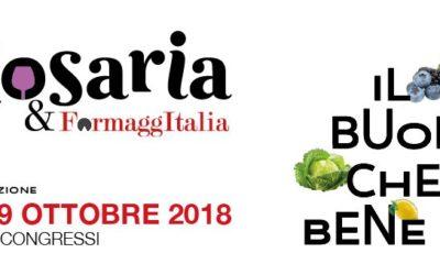 Golosaria 2018 – dal 27 al 29 ottobre a Milano