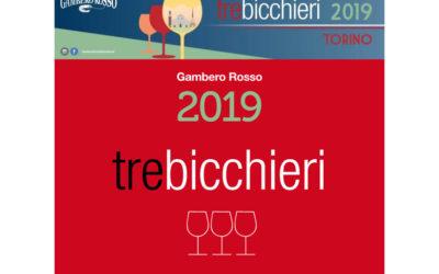 3 Bicchieri Gambero Rosso 2019 al Gattinara Riserva 2013