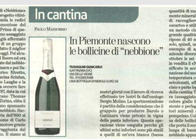 """In Piemonte nascono le bollicine di """"NEBBIONE"""""""