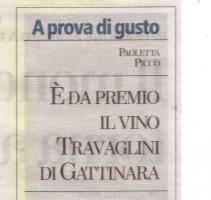 E' da premio il vino Travaglini di Gattinara
