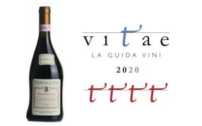 Guida Ais Vitae 2020 – 4 Viti al Gattinara Tre Vigne 2014