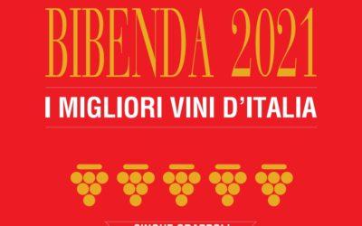 Bibenda 2021 premia 2 vini Travaglini con i 5 Grappoli