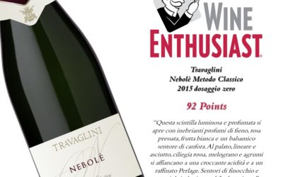 Nebolé 2015 – 92 points Wine Enthusiast Magazine